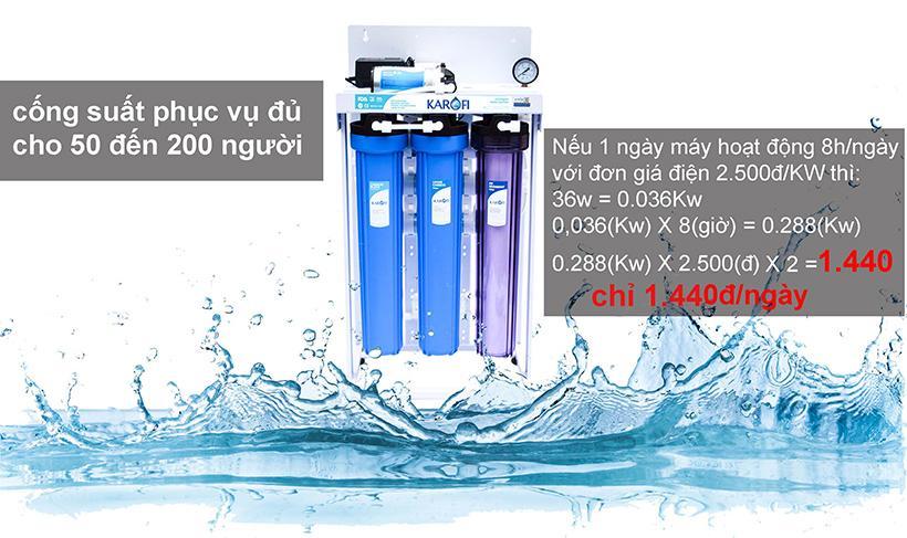 Máy lọc nước bán công nghiệp Karofi 50 lít/h - KB50