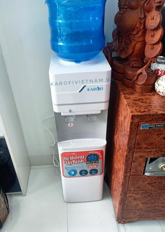 Cây nước nóng lạnh Karofi úp bình HC15