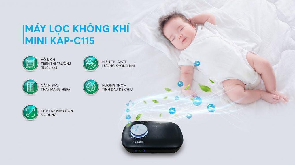 May Loc Khong Khi Mini Karofi Kap C115 Min