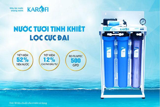Máy lọc nước bán công nghiệp công suất 80 lít/h - KB80