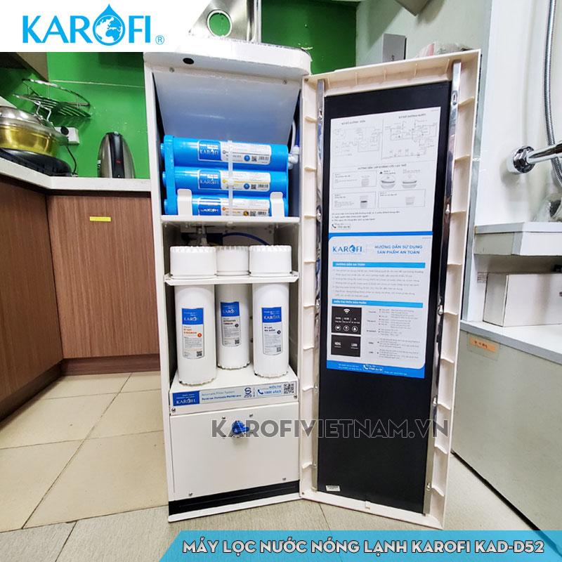 Bên trong máy lọc nước KAD-D52