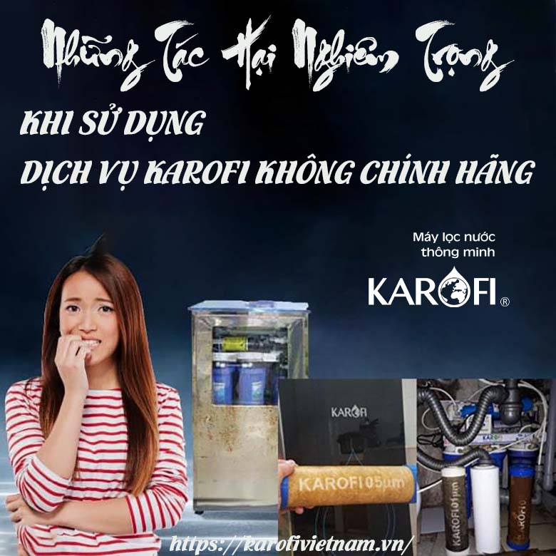 Tac Hai Nghiem Trong Cua Viec Khong Su Dung Dich Vu Karofi Chinh Hang