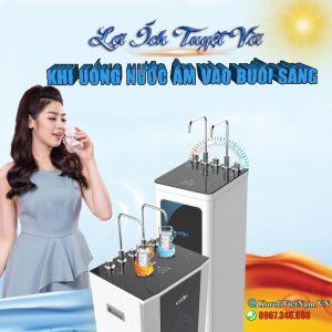 8 Loi Ich Tuyet Voi Khi Uong Nuoc Am Vao Moi Buoi Sang Min