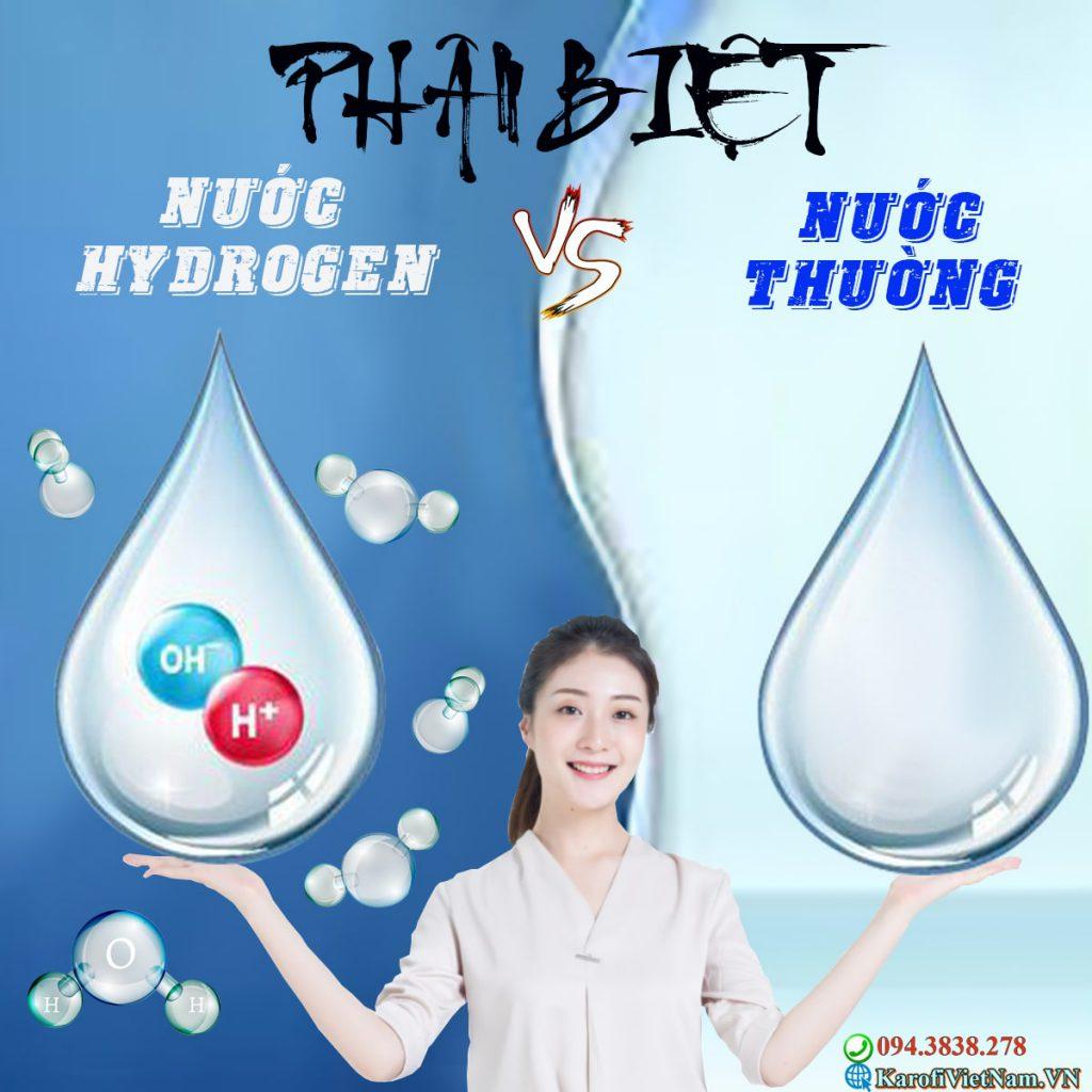 Phan Biet Nuoc Hydrogen Voi Nuoc Thuong Min