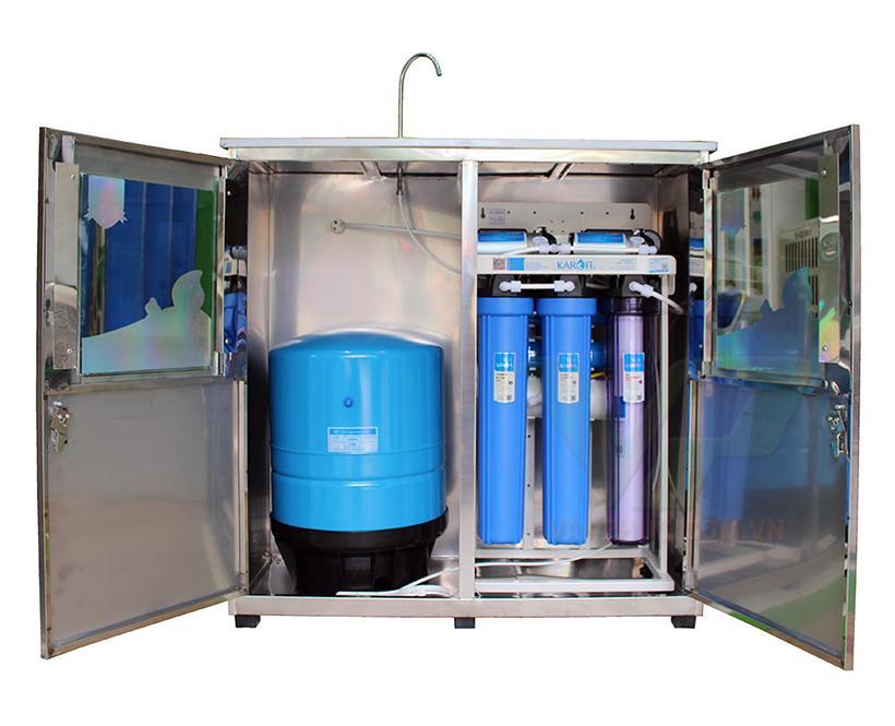 Máy lọc nước bán công nghiệp 30 lít/h - KB30 có tủ