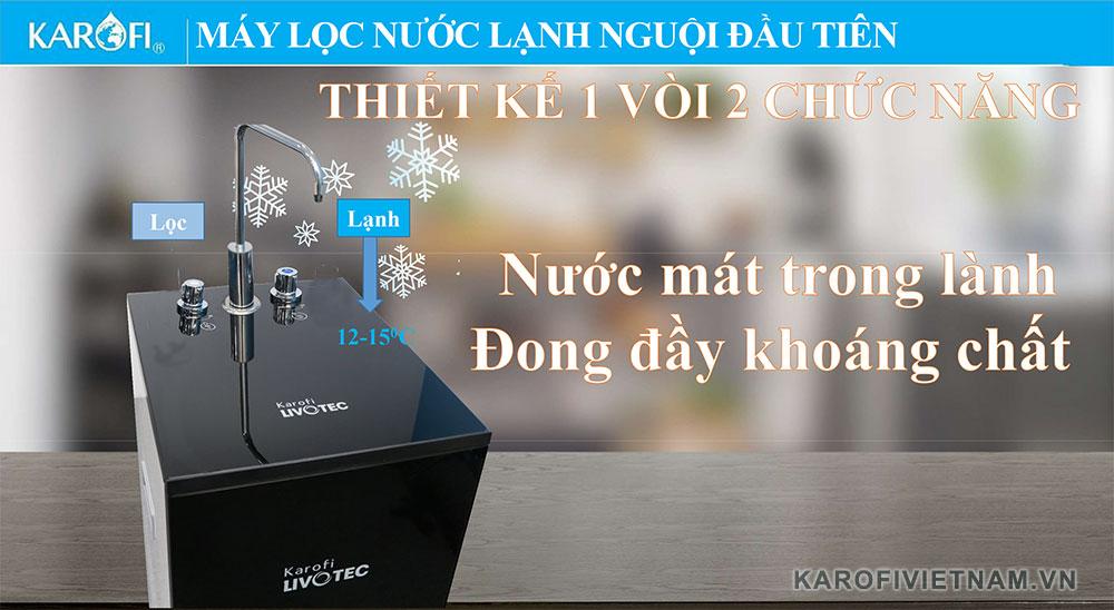 May Loc Nuoc Karofi Livotec 600 Thiet Ke