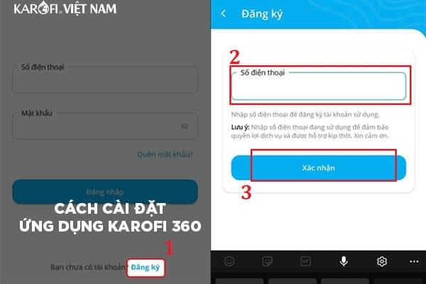1108 Cach Cai Dat Ung Dung Karofi 360 Min