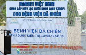 Cung Cap May Loc Nuoc Nong Lanh Cho Benh Vien Da Chien