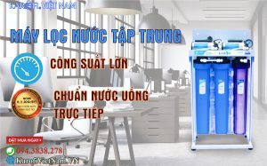 May Loc Nuoc Tap Trung