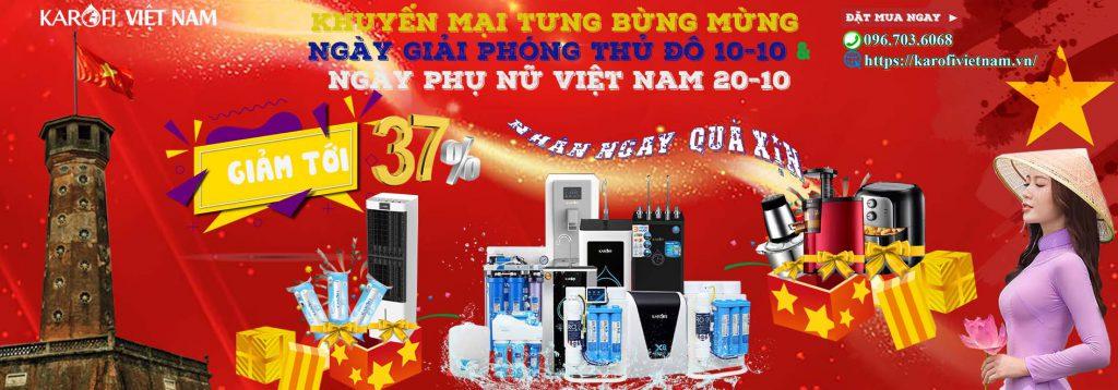 Banner Khuyen Mai Tung Bung Mung Ngay Giai Phong Do