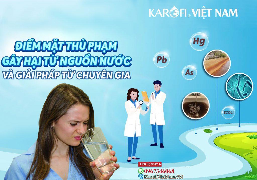 Diem Mat Thu Pham Gay Hai Tu Nguon Nuoc Sinh Hoat