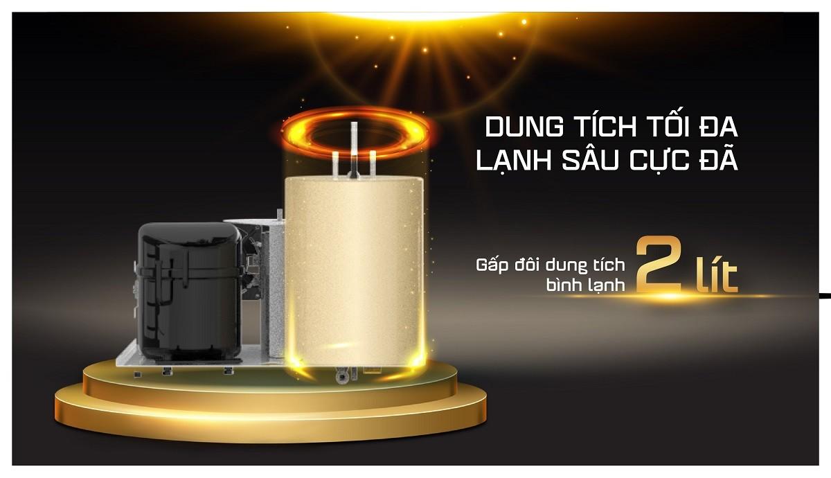 Máy lọc nước nóng lạnh Karofi KAD-D68