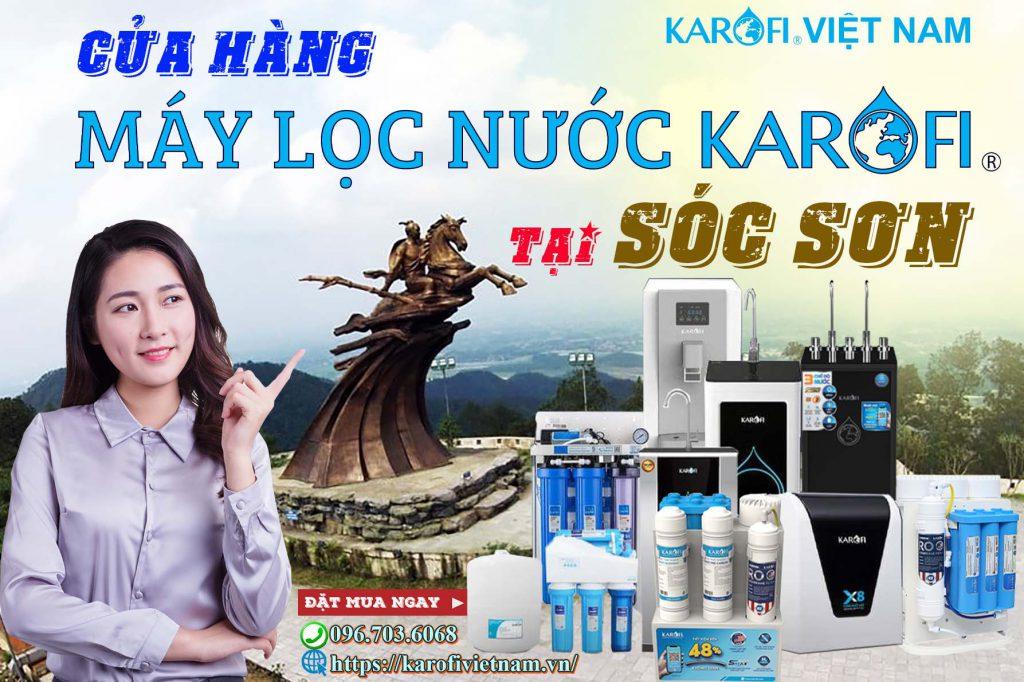 May Loc Nuoc Karofi Tai Soc Son Chinh Hang 100